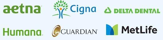 Helotes Family Dentistry accepts Aetna, Cigna, Delta Dental, Humana, Guardian, and MetLife